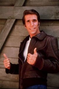 This is him. He's the Fonz.