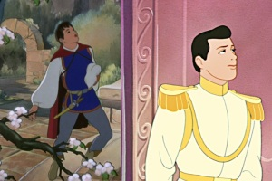 Cinderella's looks a lot like Dick Grayson...I may have just had a fangirl epiphany.
