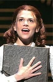 All apologies to Sutton Foster, who remains my hero in every other aspect of things.