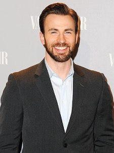 Beardy Chris Evans!