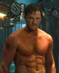 Angry Shirtless Star-Lord!